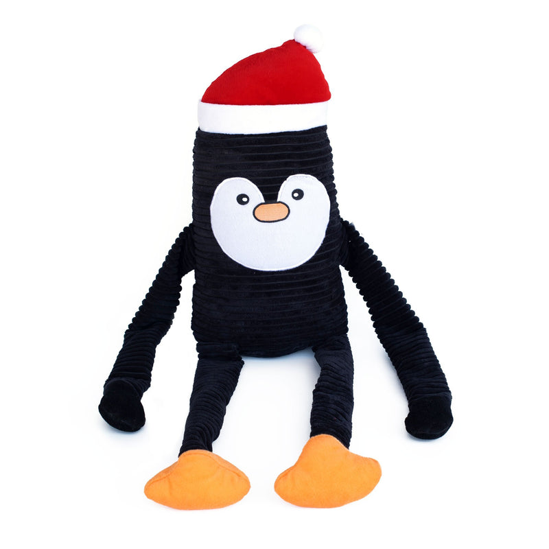 Zippy Paws Holiday Crinkle - Penguin XL