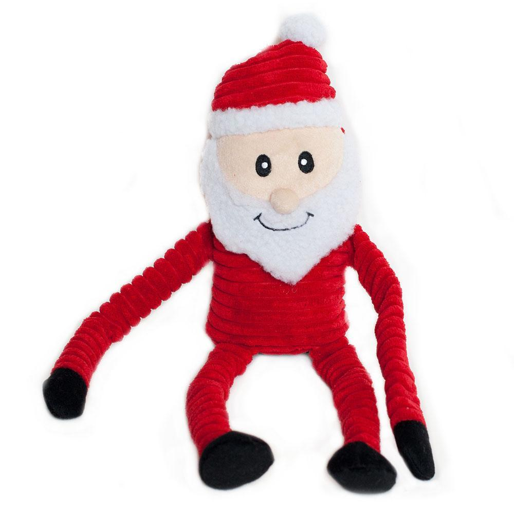 Zippy Paws Holiday Crinkle - Santa Large