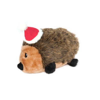 Zippy Paws Holiday Hedgehog - Large Dog Toys