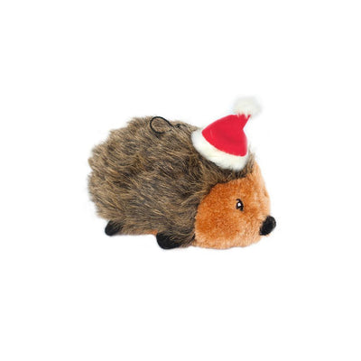 Zippy Paws Holiday Hedgehog - Small Dog Toys