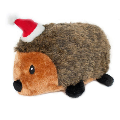 Zippy Paws Holiday Hedgehog - XL Dog Toys
