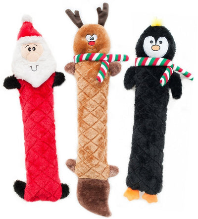 Zippy Paws Holiday Jigglerz® - Reindeer Dog Toys