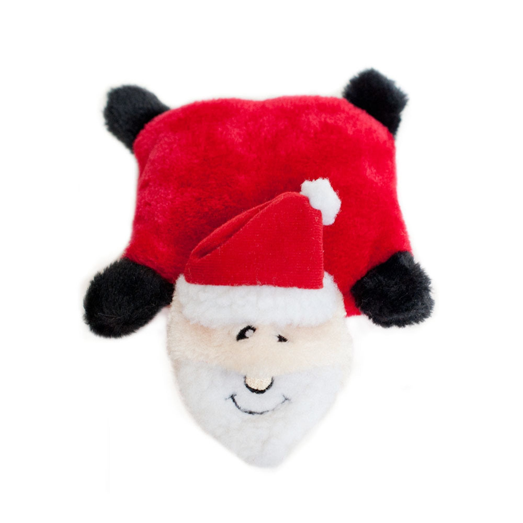 Zippy Paws Holiday Squeakie Pad - Santa