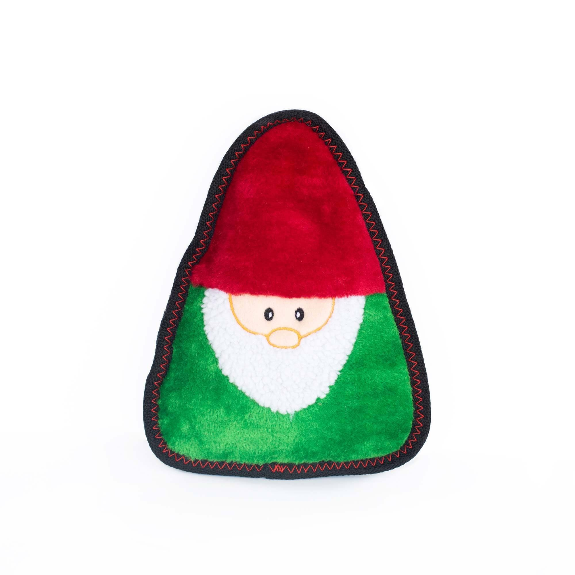 Zippy Paws Holiday Z-Stitch® - Gnome Dog Toys