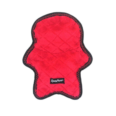 Zippy Paws Holiday Z-Stitch® - Santa Dog Toys