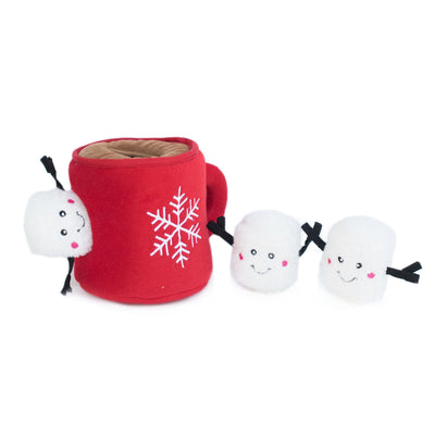 Zippy Paws Holiday Zippy Burrow - Hot Cocoa