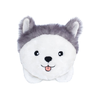 Zippy Paws Husky Bun Dog Toys