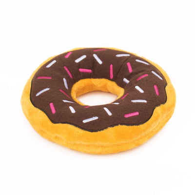 Zippy Paws Jumbo Donutz - Chocolate