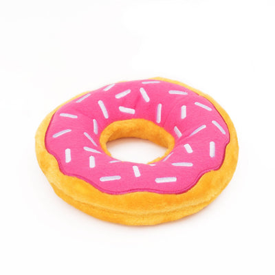Zippy Paws Jumbo Donutz - Strawberry