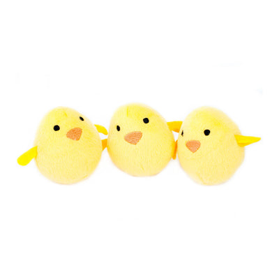 Zippy Paws Miniz 3-Pack Chicks Dog Toys