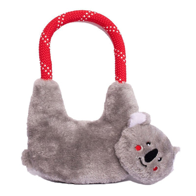 Zippy Paws RopeHangerz - Koala Dog Toys