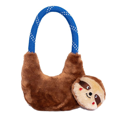 Zippy Paws RopeHangerz - Sloth Dog Toys