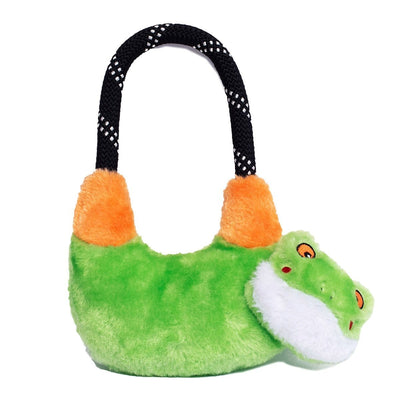 Zippy Paws RopeHangerz - Tree Frog Dog Toys