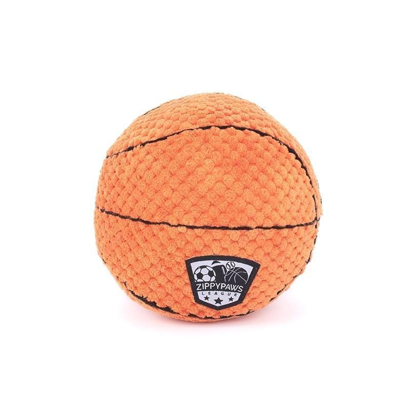 Zippy Paws SportsBallz - Basketball Dog Toys
