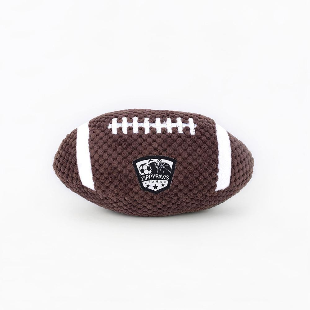Zippy Paws SportsBallz - Football Dog Toys