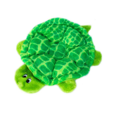 Zippy Paws Squeakie Crawler - SlowPoke the Turtle Dog Toys