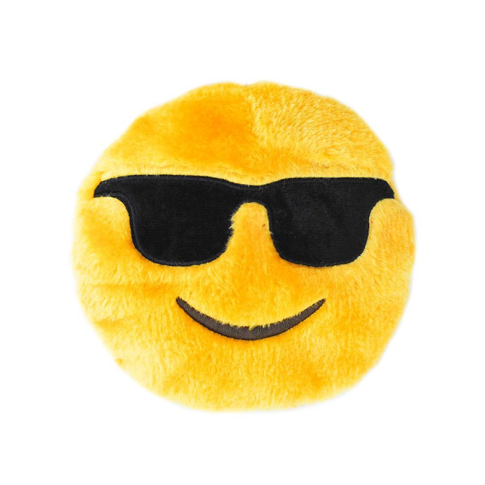 Zippy Paws Squeakie Emojiz™ - Cool Dude