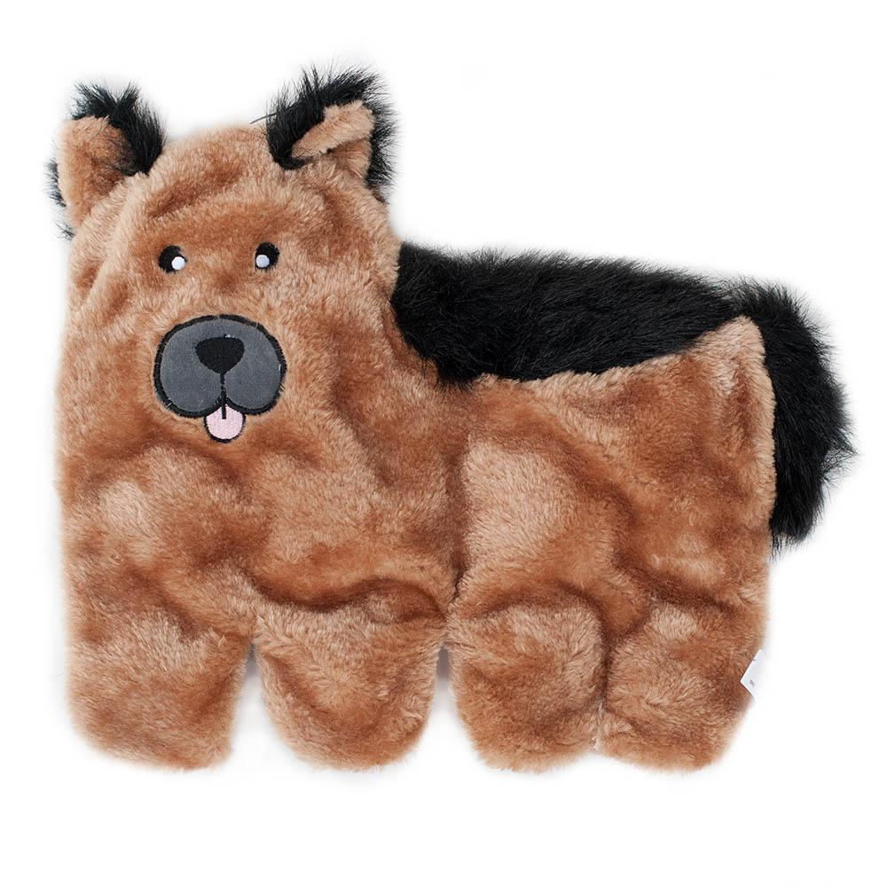 Zippy Paws Squeakie Pup - German Shepherd Dog Toys