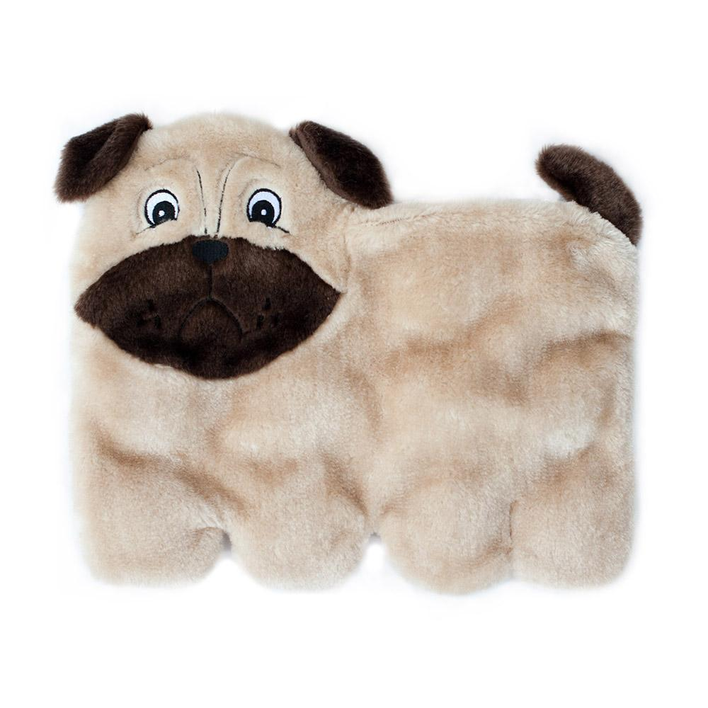 Zippy Paws Squeakie Pup - Pug