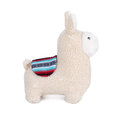 Zippy Paws Storybook Snugglerz - Liam the Llama Dog Toys