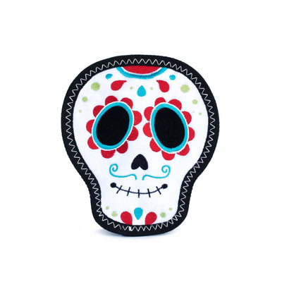 Zippy Paws Z-Stitch® Santiago the Sugar Skull Dog Toys