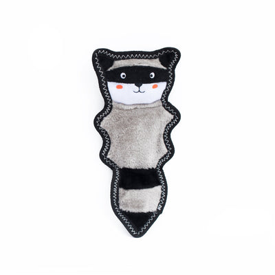 Zippy Paws Z-Stitch® Skinny Peltz - Raccoon Dog Toys