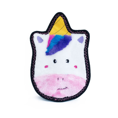 Zippy Paws Z-Stitch® Sprinkles the Unicorn Dog Toys