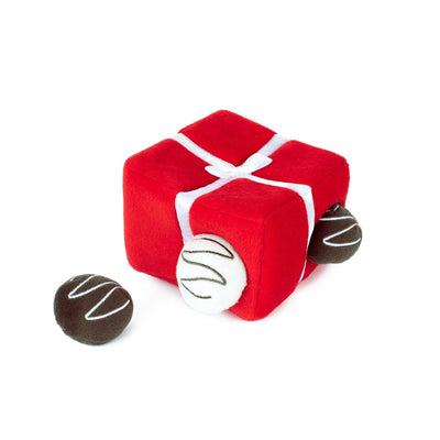Zippy Paws Zippy Burrow - Box of Chocolates Dog Toys
