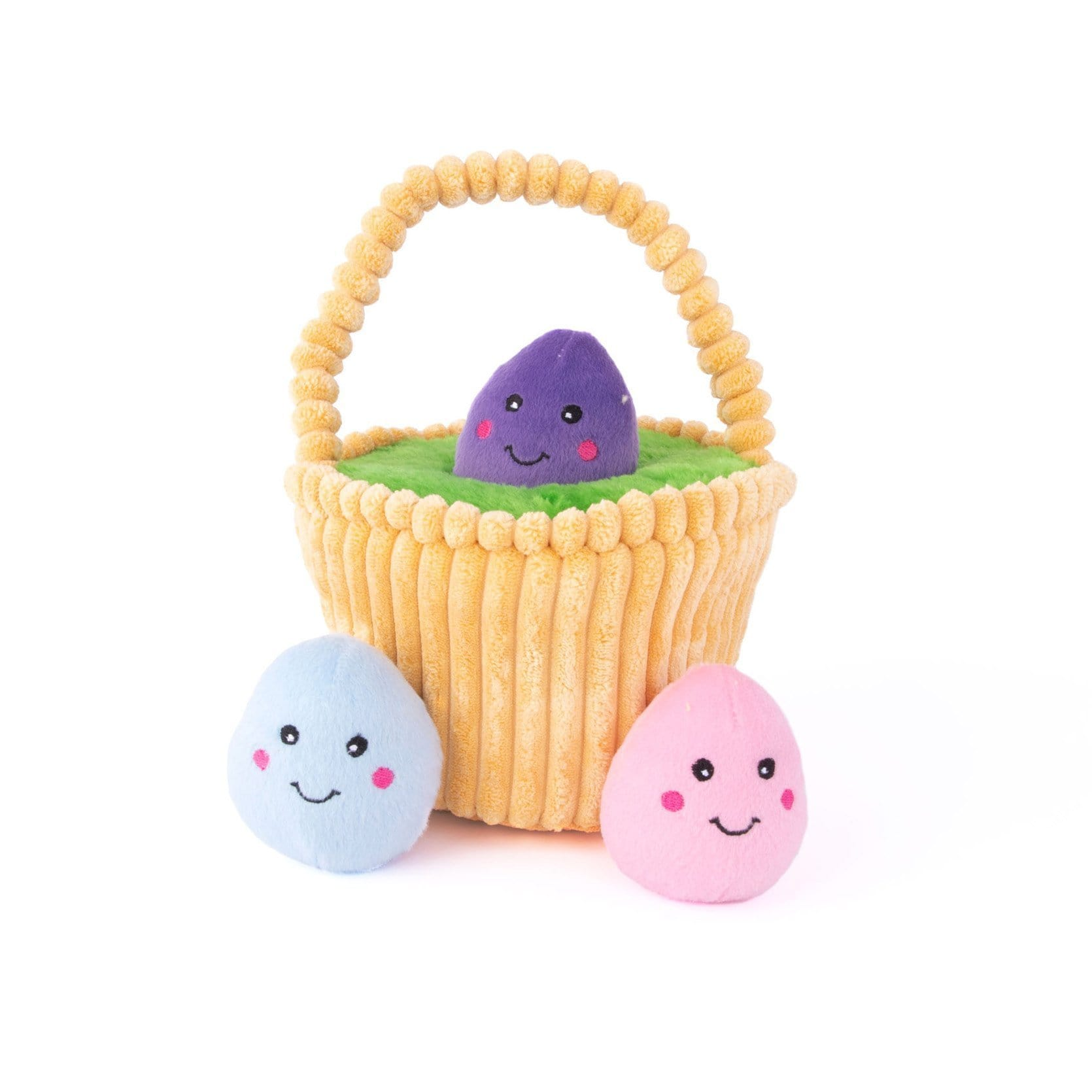 Zippy Paws Zippy Burrow - Easter Basket Dog Toys