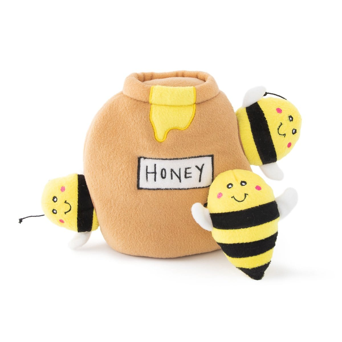 Zippy Paws Zippy Burrow - Honey Pot Dog Toys