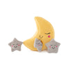 Zippy Paws Zippy Burrow - Moon and Stars Dog Toys