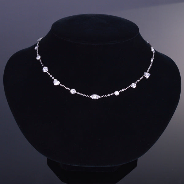 Aria Diamond Chain Necklace