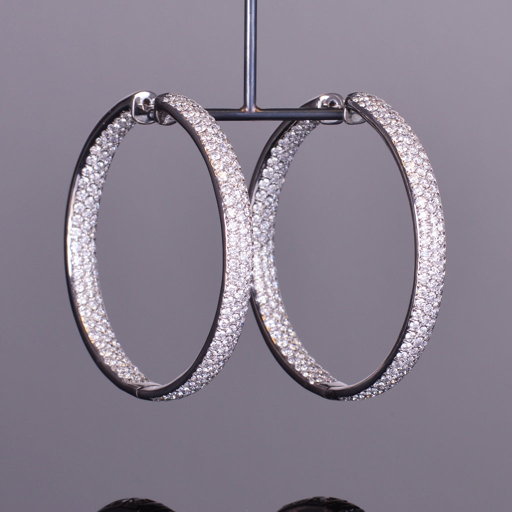 Duchess Diamond Hoops