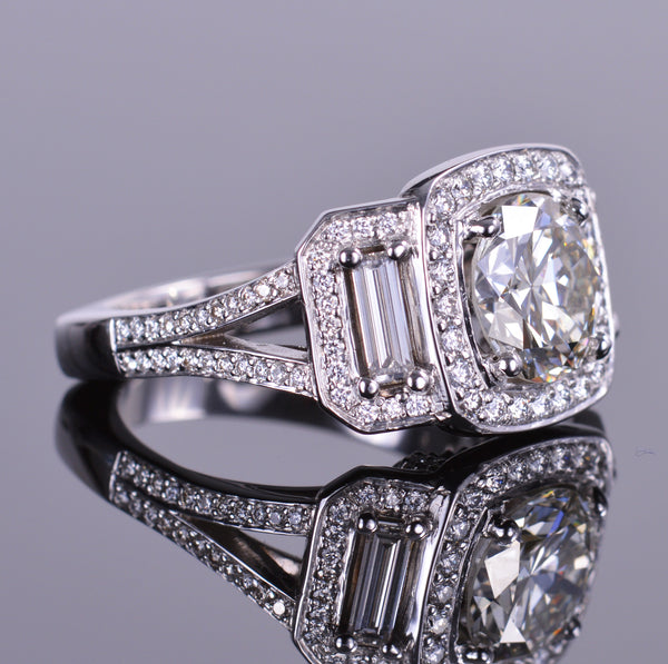 Old European Diamond Ring (Estate)