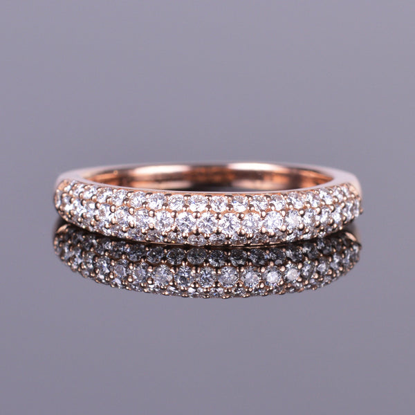 Diamond Pave Anniversary Band