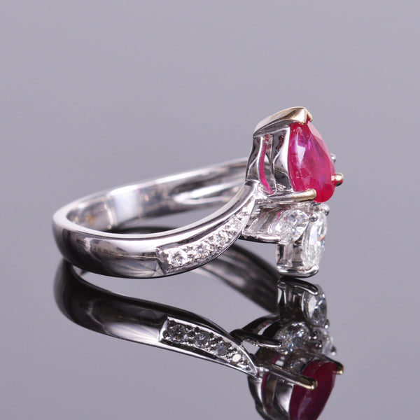 Ruby and Diamond Ring (Estate)