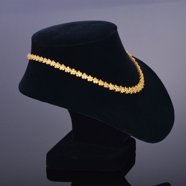 Yellow Sapphire EuroStar Necklace