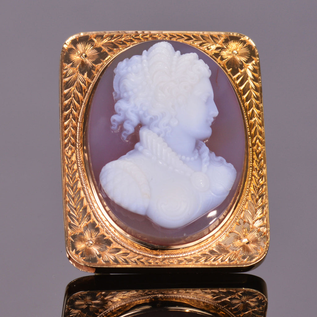 Vintage Cameo Ring (Estate)