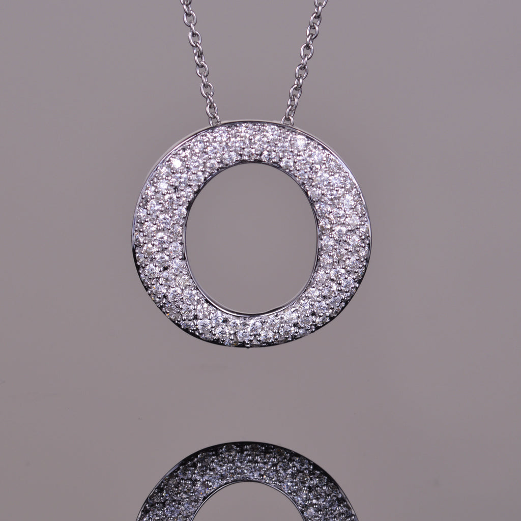 Perpetual Light Diamond Pendant