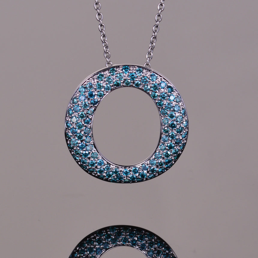 Blue Diamond Perpetual Light Pendant