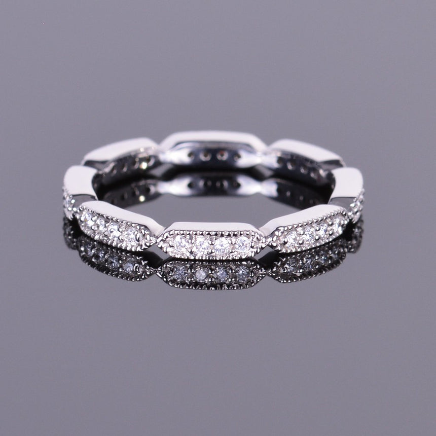 Diamond Eternity Deco Band
