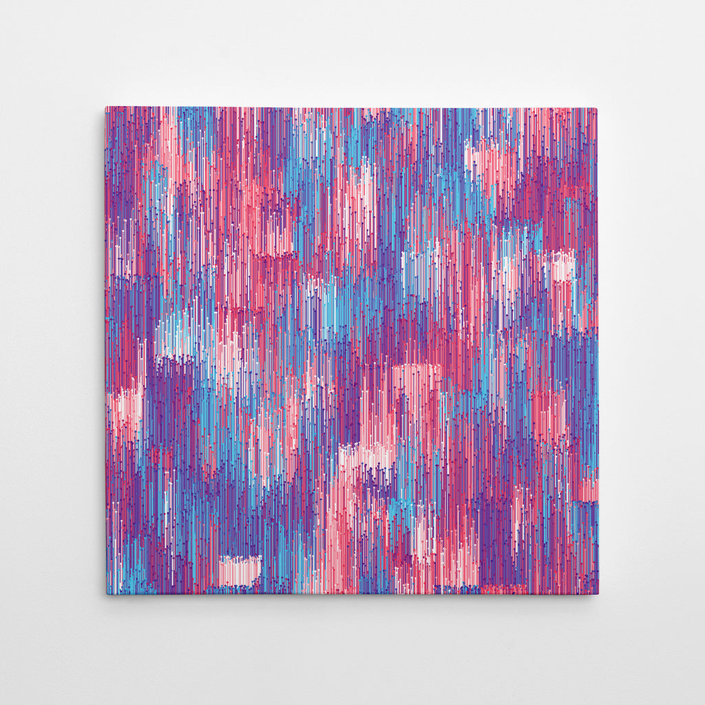 Verticals - Red & Blue