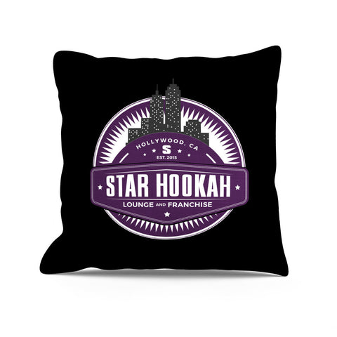 Star Hookah Pillow