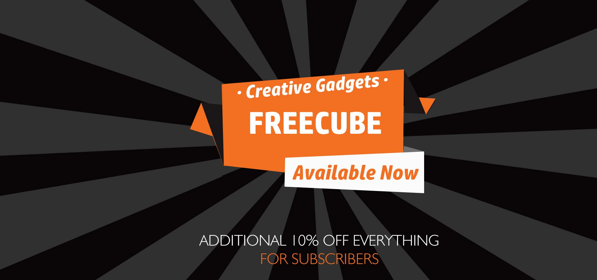 Freecube: Modular USB Power Socket, Bluetooth Speaker, Wireless Charger & Sensor Light In One