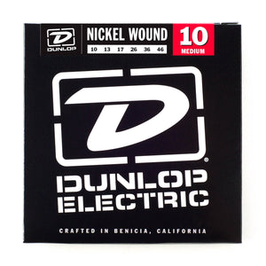Dunlop Electric Nickel Wound 10-46