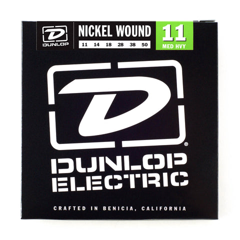 Dunlop Electric Nickel Wound 11-50