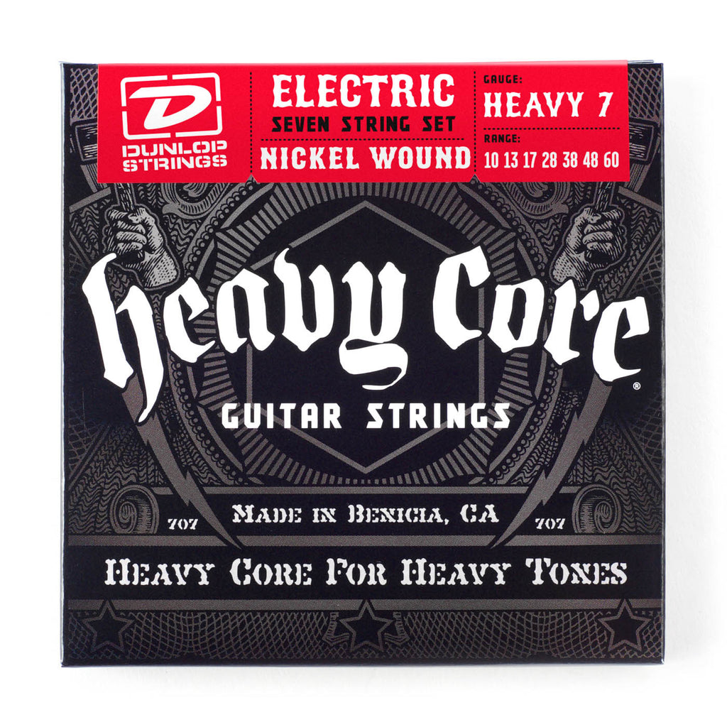 Dunlop Electric Nickel Heavy Core 10-60