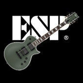 ESP/LTD EC-401 military green satin