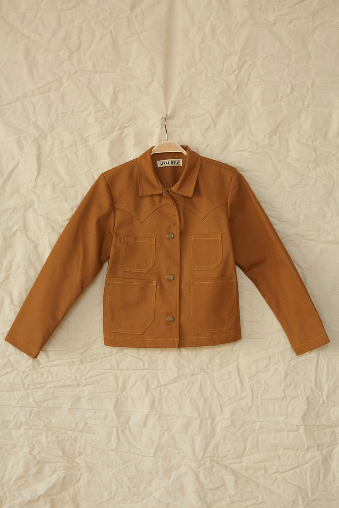 Ranch Chore Jacket - Honey Canvas