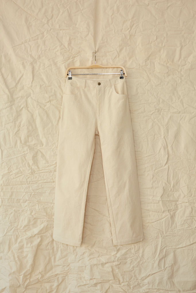June Painter Pant - Natural Canvas